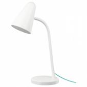 ФЮББЛА Рабочая лампа, светодиодная, белый