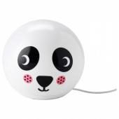 ЭНГАРНА Настольная лампа, светодиодная, орнамент «панда»